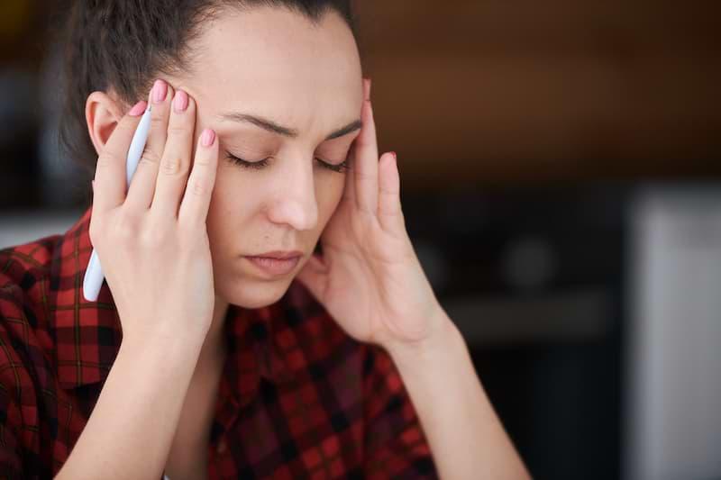 Antimigrenózna masáž