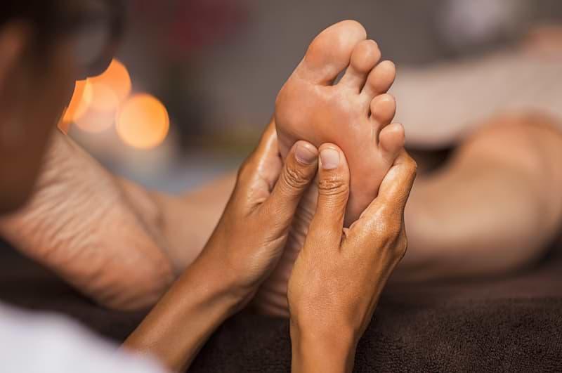 Reflexná masáž chodidla 2