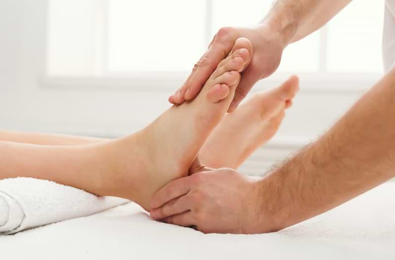 Reflexná masáž chodidla